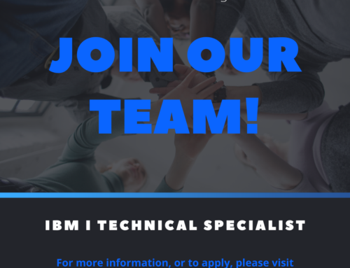 [Career Opportunity] IBM I Technical Specialist