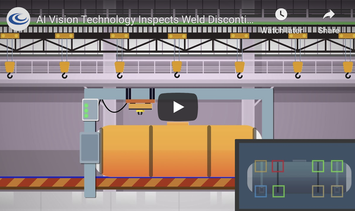 AI Vision Solution Inspects Weld Discontinuities In Real Time